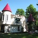 The five-bedroom Blarney Castle is one of the more whimsical properties at the Garmisch USA Resort in Cable, Wis.