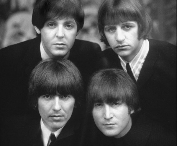 The Beatles were a worldwide sensation by 1965, when this photo was taken.