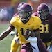 Demry Croft, a freshman quarterback, looked like a playmaker when he was on the field during Saturday's Gophers scrimmage at Concordia (St. Paul).