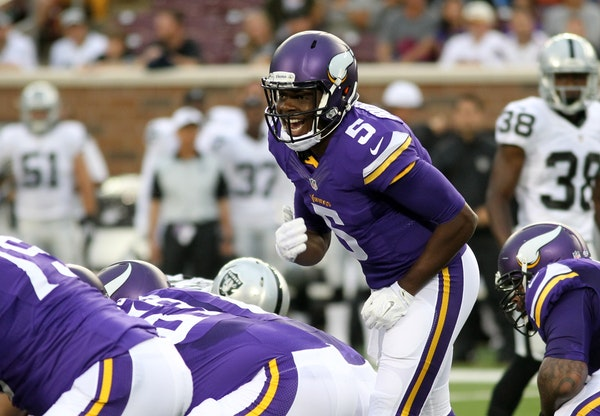 Teddy Bridgewater's completion percentage of 64.4 last season for the Vikings was the third best for a rookie QB in NFL history.