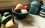 At harvest time, a gardener's bowls carry memories and more