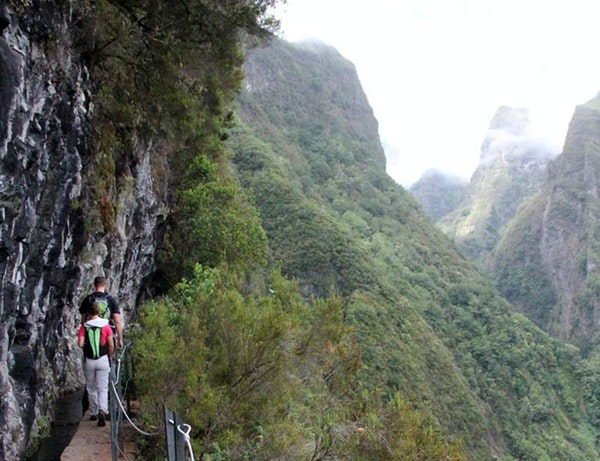 On Madeira, a volcanic island that juts from the Atlantic Ocean between Europe and Africa, hikers along the levadas, or canals, encounter drops — an