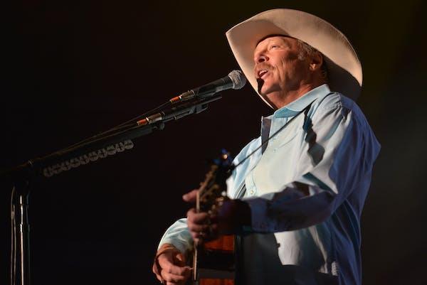 Country singer Alan Jackson's concert Saturday at Target Center has been postponed.