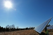 Solar energy companies and the state Commerce Department have asked regulators to jump start the solar program, but Xcel has authorized only one solar