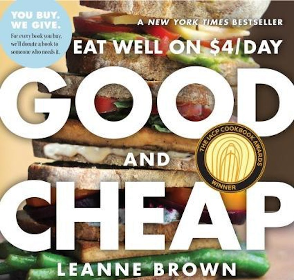 New cookbook shows how to eat well on $4 a day