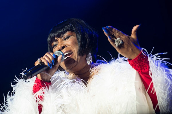 R&B superstar Patti LaBelle performed at the Grandstand Wednesday night.
