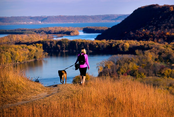 After a Washington Post piece took issue with Minnesota's natural beauty, residents came to the state's defense, citing views like these above the Mis