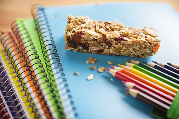 Baking Central comes up with granola bars for school breakfasts and lunches. Photographed on Thursday, September 10, 2015.