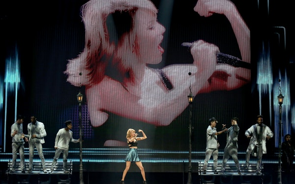 Taylor Swift flexed her star power at Xcel Energy Center with three sold-out concerts Friday through Monday.