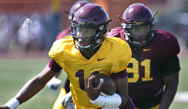 Freshman quarterback Demry Croft possesses many skills, but Gophers coach Jerry Kill would rather redshirt him if possible.