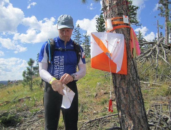 Peter Wentzel competed last year on a two-person team in the orienteering 24-hour world championships in South Dakota.
