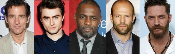 Options for the next James Bond include, from left, Clive Owen, Daniel Radcliffe, Idris Elba, Jason Statham and Tom Hardy.