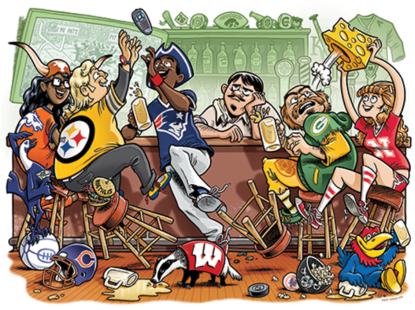 Find your people: Rival sports bars cater to many persuasions