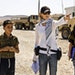 """Director Kathryn Bigelow, center, on the set of """"The Hurt Locker."""" The Oscar-winning film makes its TCM premiere at 10:45 p.m. Oct. 29 as part of"""