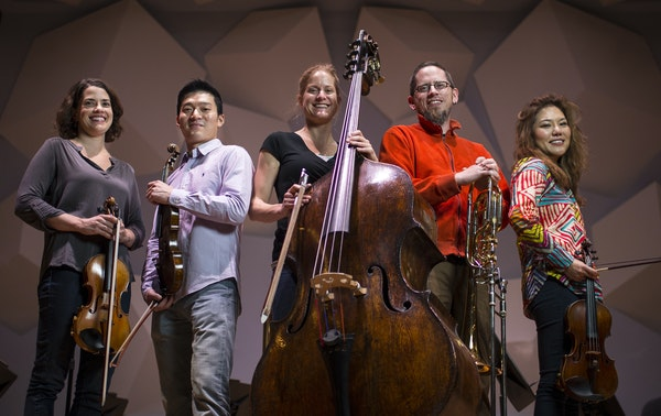 The Minnesota Orchestra's new additions include Cecilia Belcher, Rui Du, Kristen Bruya, Andrew Chappell and Susie Park.