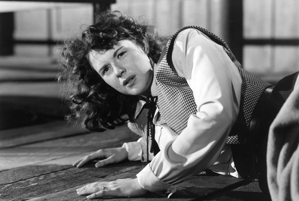 """Mala Powers portrays a rape victim in the 1950 movie """"Outrage,"""" directed by Ida Lupino."""