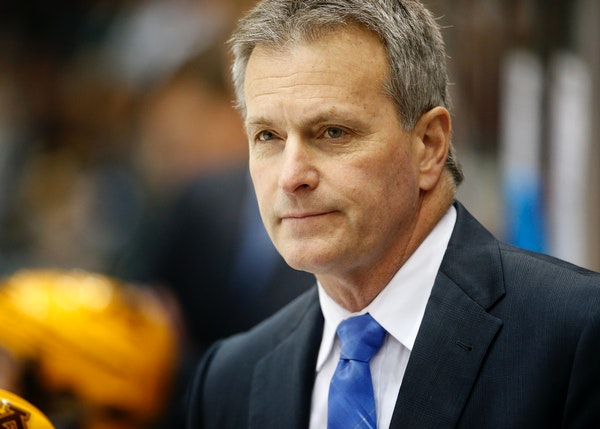 Coach Don Lucia's Gophers open the season Oct. 10 vs. Vermont at Mariucci Arena.