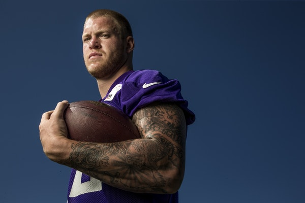 Minnesota Vikings tight end Kyle Rudolph is expected to make a big impact in 2015.
