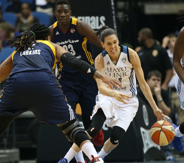 """Lynx guard Anna Cruz tormented the Fever. """"She's like a little gnat that's all over you,"""" Indiana coach Stephanie White said."""