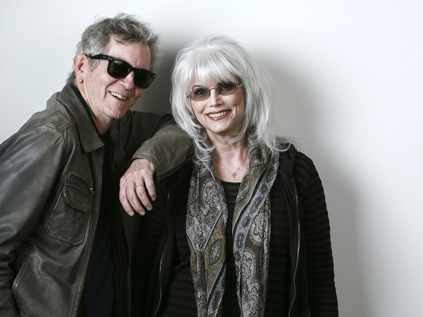Rodney Crowell and Emmylou Harris perform Tuesday at State Theatre.