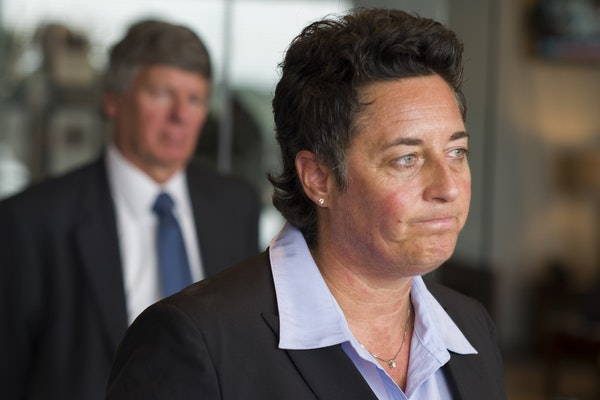 Former UMD women hockey coach Shannon Miller described a pattern of discrimination, the reason she and two other coaches are bringing suit against the