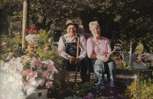 """Ann Guenther honored her 82-year-old husband Ray's wish to """"die with this boots on"""" after he was severely injured in a fall off a moving tractor."""