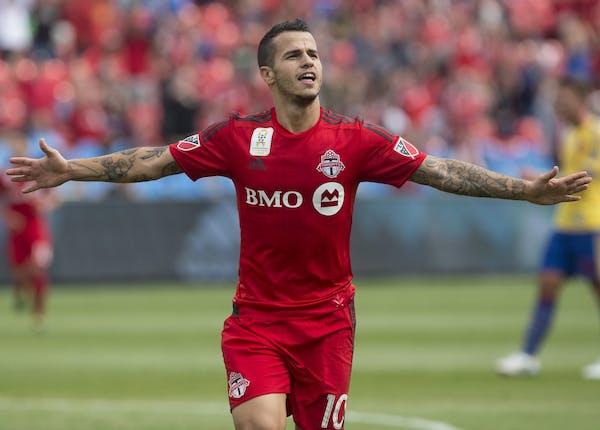 Toronto FC's Sebastian Giovinco scored his team's biggest goal of the season on Wednesday.