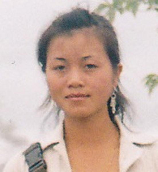 Panyia Vang at age 14, when she was lured to a hotel in Laos and raped.