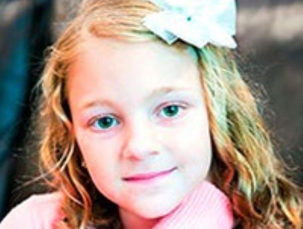 Sophia Jordan Baechler, 7, of Edina, died Sunday, Oct. 11, 2015, from carbon monoxide poisoning.