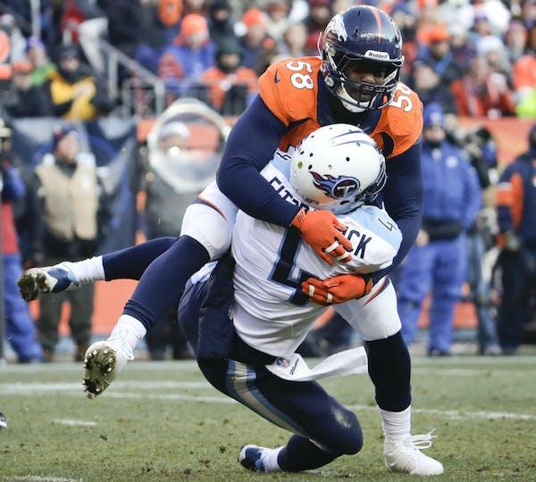 Denver Broncos outside linebacker Von Miller