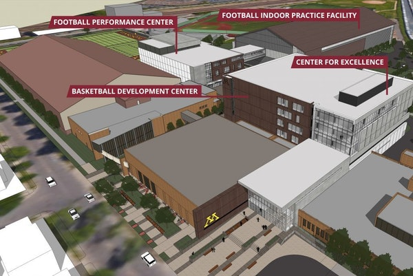 """The University of Minnesota is expected to give final approval Friday to a $166 million """"Athletes Village."""""""