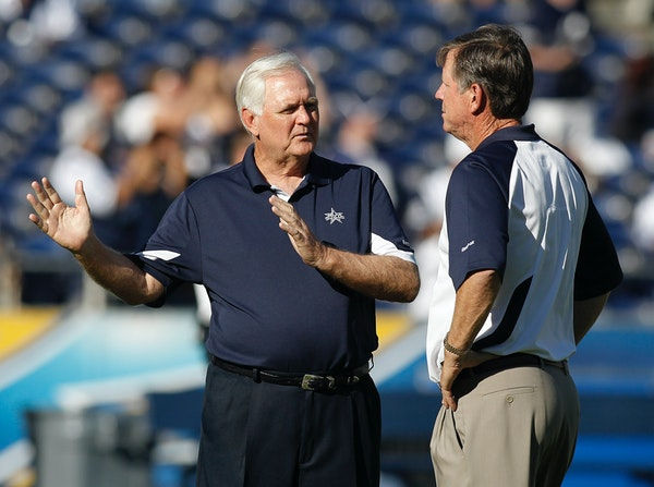 In 2010, Wade Phillips, then the head coach of the Dallas Cowboys, and Norv Turner, then the head coach of the San Diego Chargers, met before a presea