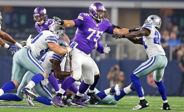 Through the preseason and into the regular season, Matt Kalil has kept things relatively quiet on the left side of the Vikings offensive line.