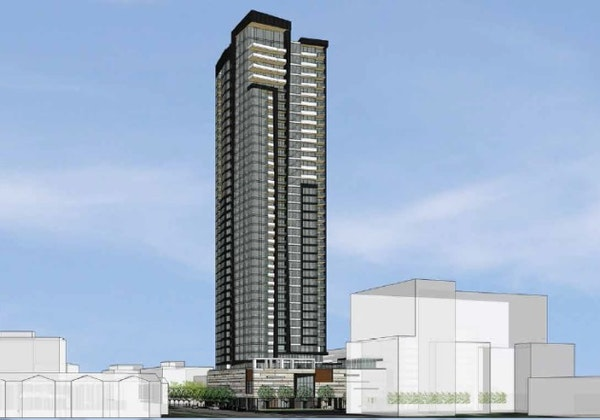 Alatus reveals latest designs for 40-story residential tower in Minneapolis