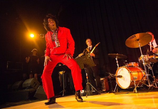 Ty Stone delivers pure funk with 'James Brown Experience'