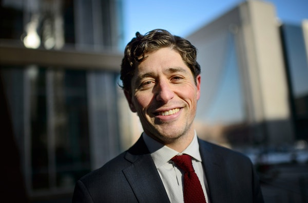 Minneapolis City Council Member Jacob Frey, shown in February 2015, raised more than $62,300 in 2015 and already has nearly $101,000 in the bank.