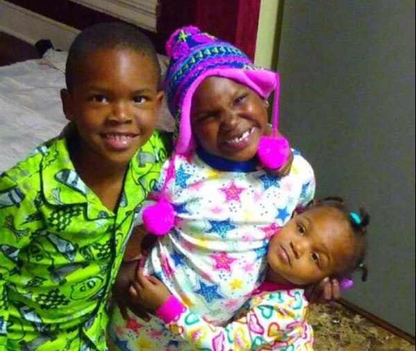 The Stewart children who were killed in the fire: Latorious, 6, Latora, 5, and Latorianna, who was about to turn 2.