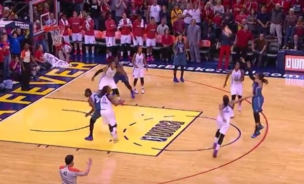 Video: Watch Maya Moore's buzzer-beating game winner