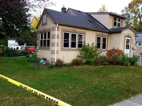 Two people died and one was injured in a fire on the 300 block of 11th Avenue S. in South St. Paul Tuesday night.