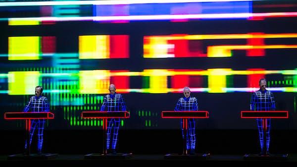 Kraftwerk performed Wednesday, Oct. 7, 2015 at Northrop Auditorium at the University of Minnesota.