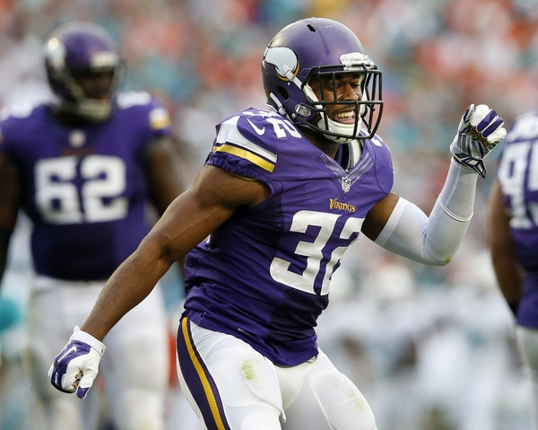Minnesota Vikings Antone Exum.