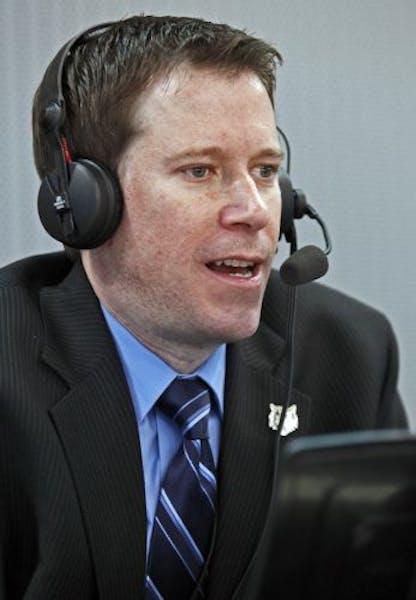 Timberwolves radio broadcaster Alan Horton