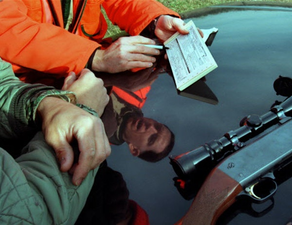 Hunters who forget to carry their licenses into the field can be ticketed and fined. In some instances, warnings might instead be issued.