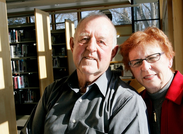In 2007, Joe and Emmy Tikalsky donated $100,000 in Joe's grandmother's name to create a special room in the New Prague library.