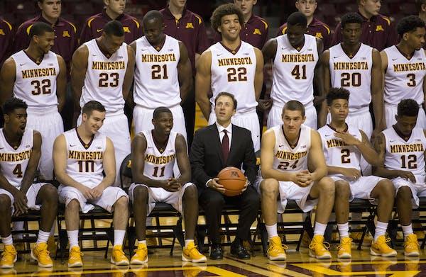 The 2015-16 Gophers basketball team