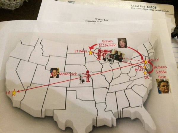 Map provided by the House Committee on Veterans' Affairs.