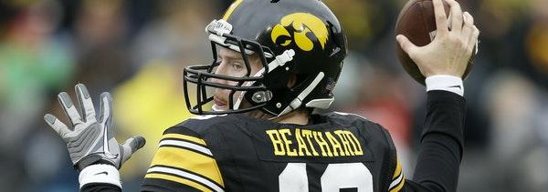 Iowa quarterback C.J. Beathard
