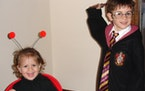 Savoring the Halloweens of costumes, Jack-o-Lanterns and young children
