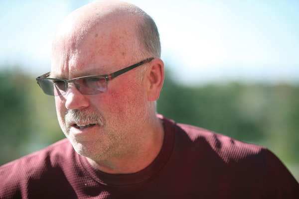 Coach Jerry Kill talked to a reporter Thursday regarding allegations of sexual harassment by University of Minnesota football players.