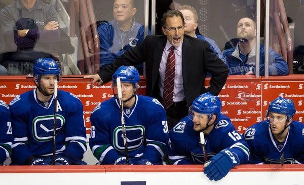 John Tortorella takes over the Blue Jackets, two seasons after he was let go by Vancouver. Tortorella led Tampa Bay to the Stanley Cup in 2004 and had